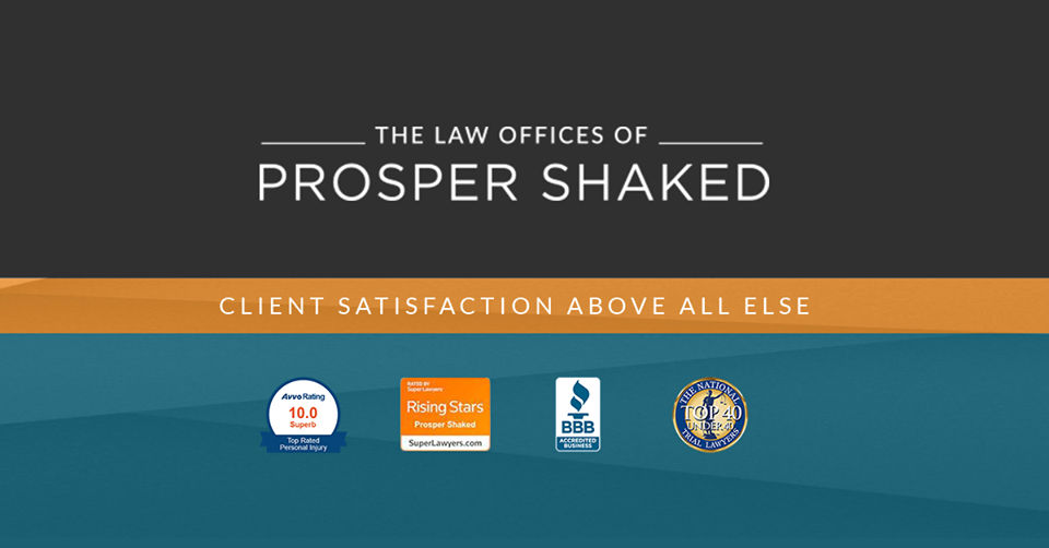 The Law Offices of Prosper Shaked - cover