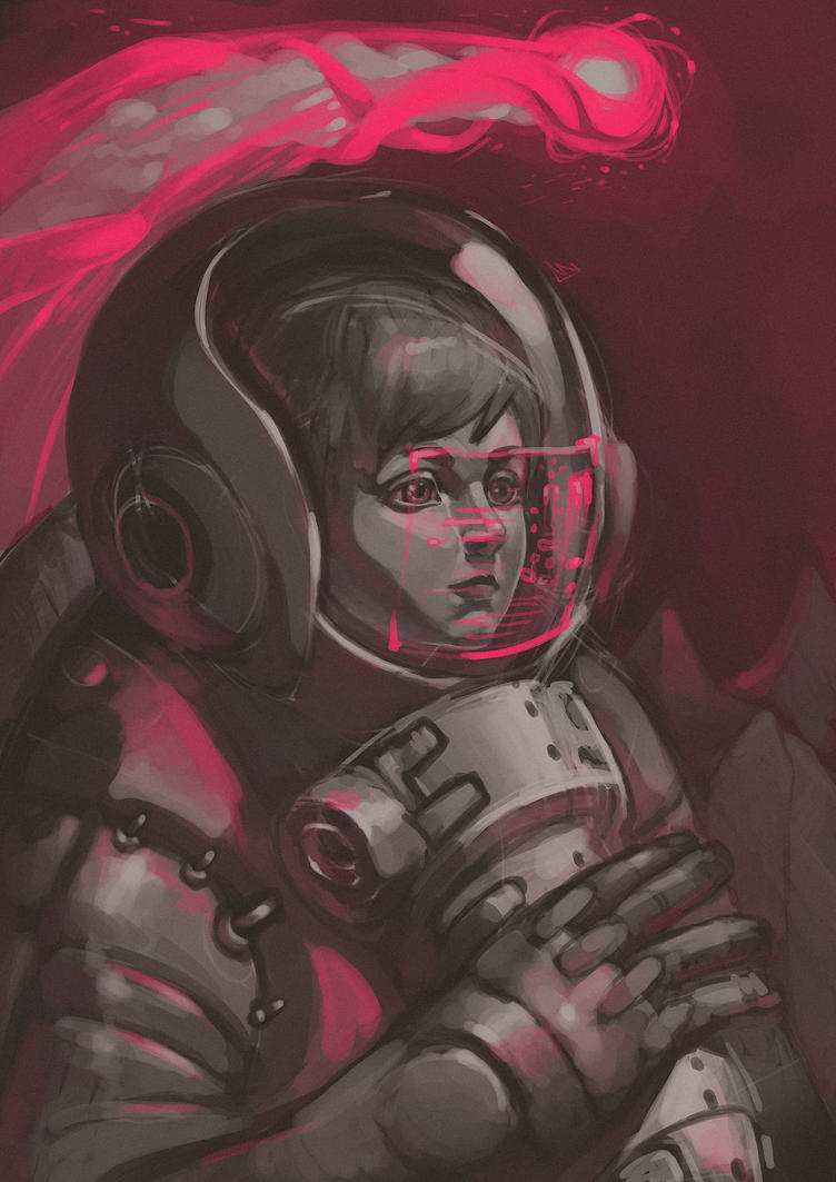 Astrogirl by VVades