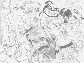 A Tribute To Don Bluth 'L.A.' by AuronTsubaki1985