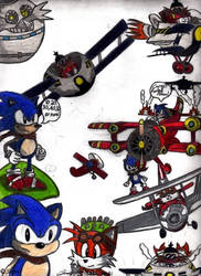 Sonic Vs. The Red Baron