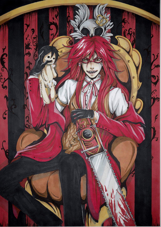 Crimson Shinigami by NestOfAyuki