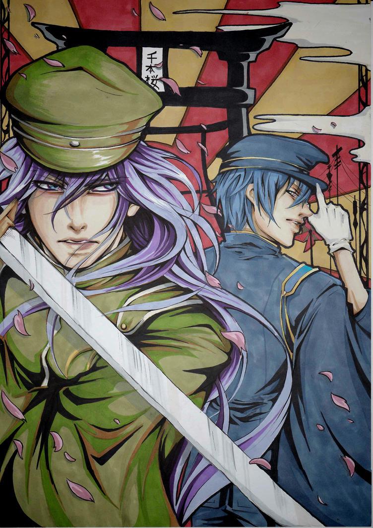 Senbonzakura by BloodAyuki