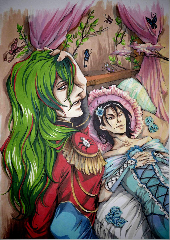TouMaki - Sleeping Beauty by NestOfAyuki