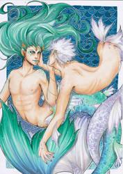 Under the sea by NestOfAyuki