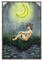 Dreaming Satyr by Vojageyr