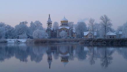 Holy Winter by Vojageyr