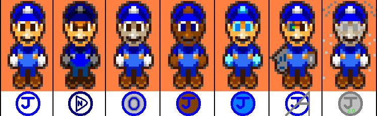 Too many Blue Js
