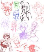 some homestuck sketches by SiggyKuu