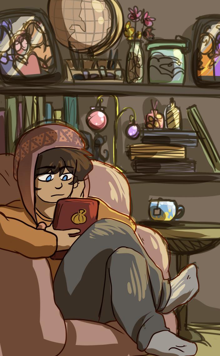 Reading Day by SiggyKuu