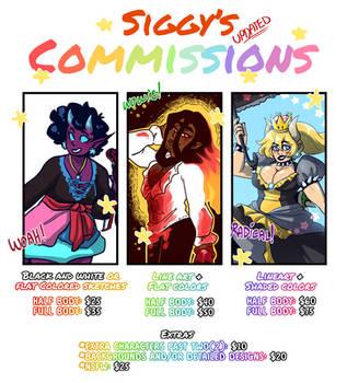 Siggy's commissions by SiggyKuu