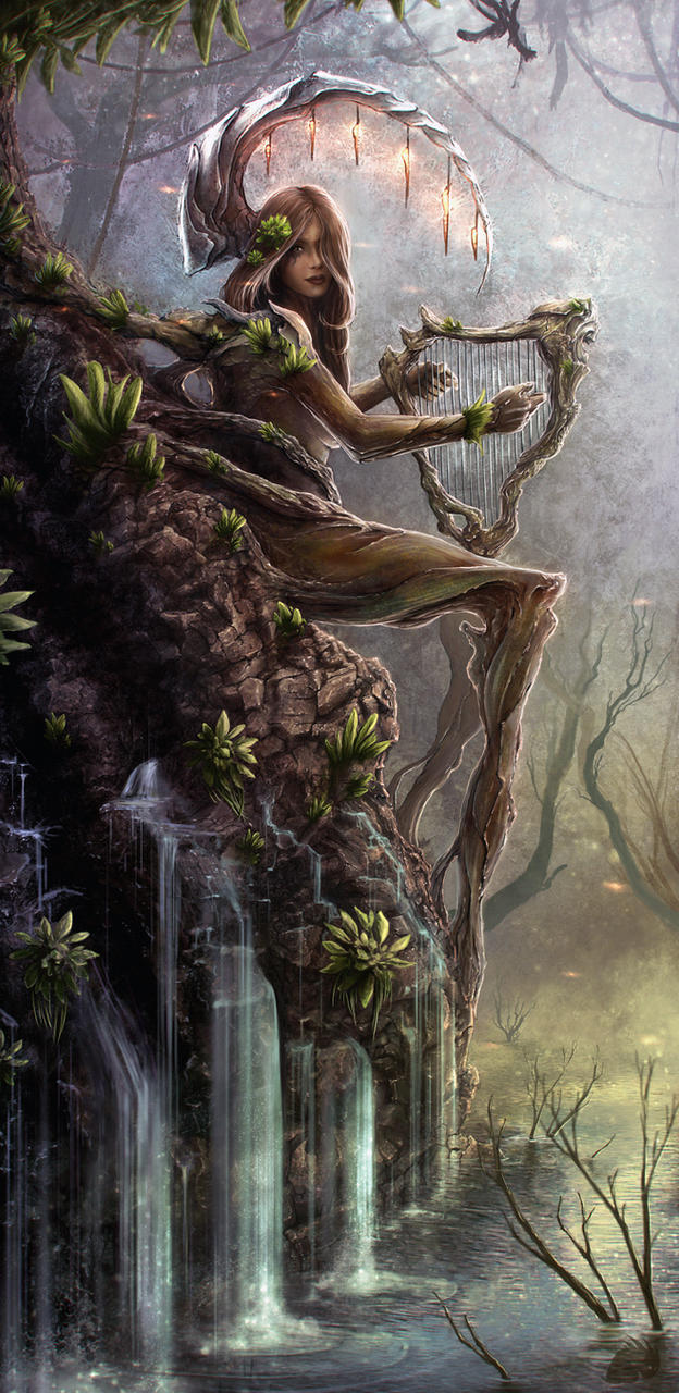 Wood nymph by newmand on deviantart Goddess of nature greek