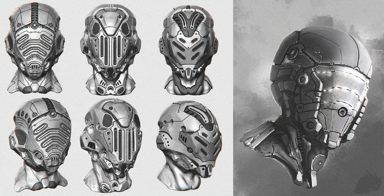 helmets designs by NewmanD