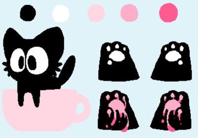 teacup kitter  by YukkiSp00ky