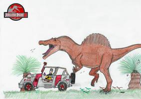 Spinosaurus aegyptiacus by Noxsik2012