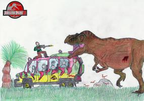 Tyrannosaurus Rex by Noxsik2012