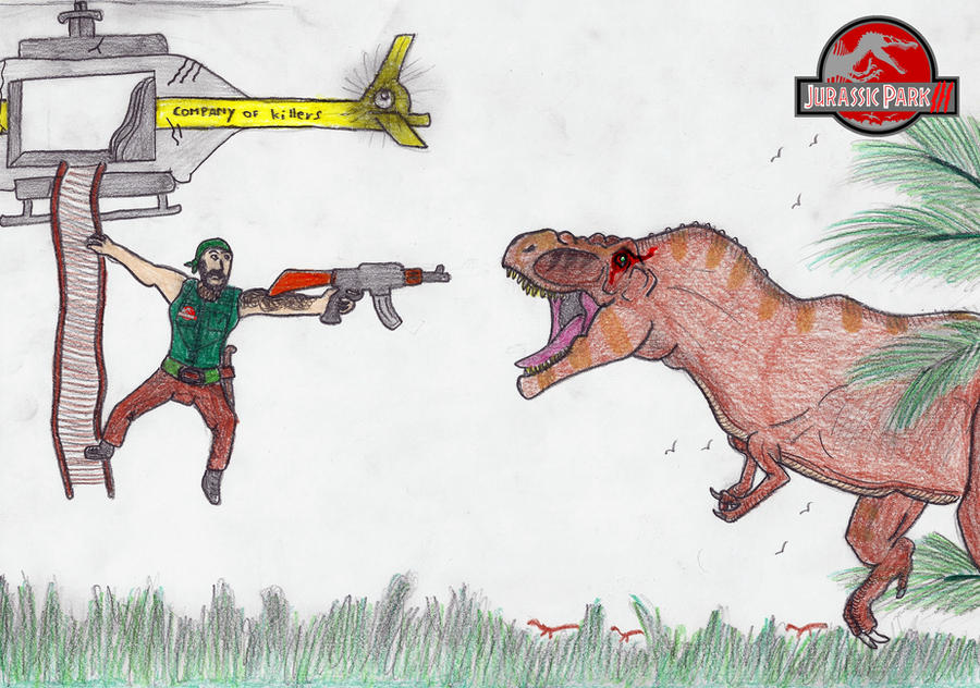 The Scarred Rex vs Oscar Morales by Noxsik2012