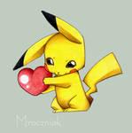 Pikachu :3 by MroczniaK