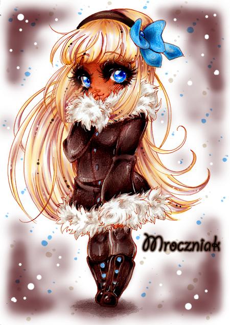.Glacial Eyes. by MroczniaK