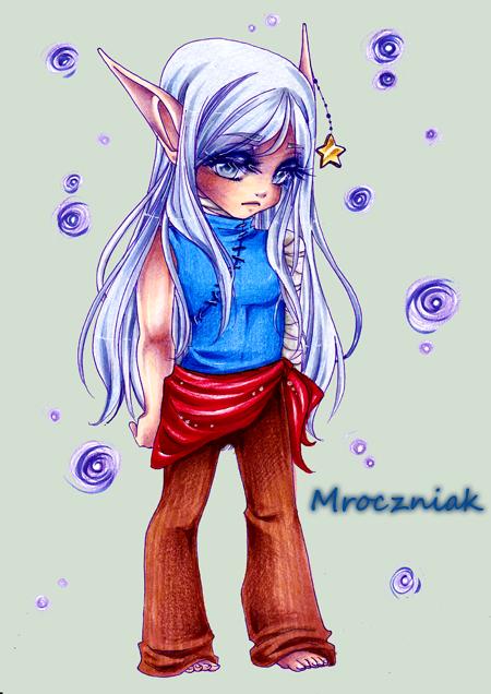 .Elf. by MroczniaK