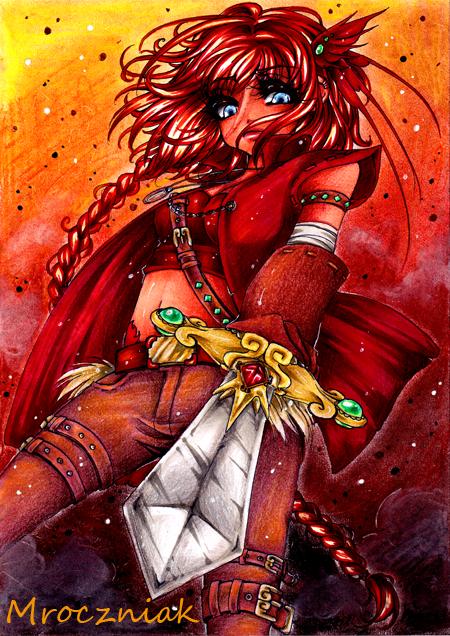 ..:: Battle Girl ::.. by MroczniaK