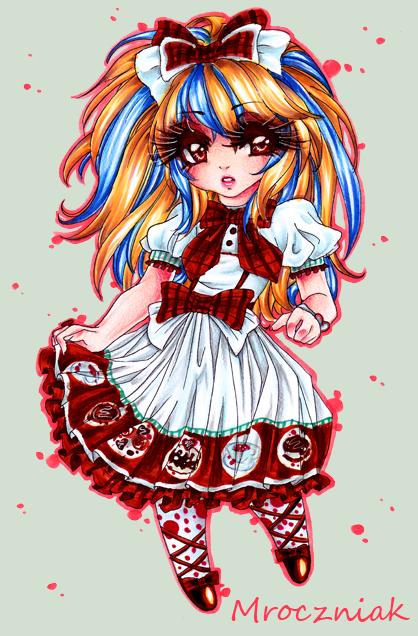 .Cake Dress. by MroczniaK
