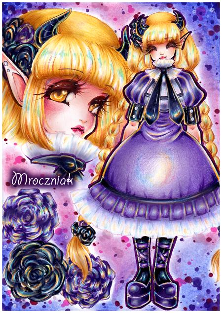 + The Black Rose + by MroczniaK