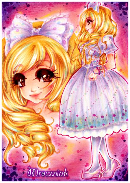 + Pink Lolita + by MroczniaK