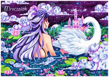.I wanna be a white swan.