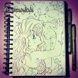A kiss... by MroczniaK