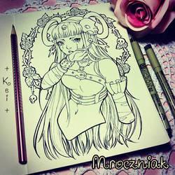 Inked Kei by MroczniaK