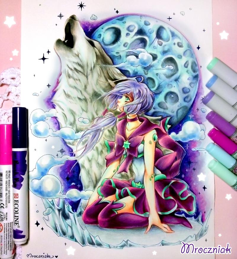 + Sailor Amazonite Lupa + by MroczniaK