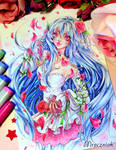 + Shurei in roses +