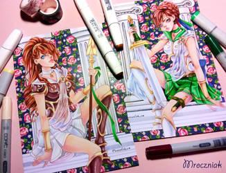 ~ Sailor Aglaia and Sailor Victoria ~