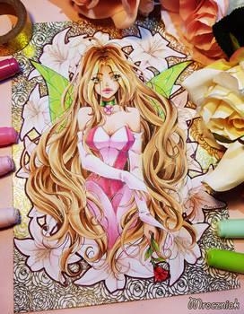 + Winx Club - Flora + (+drawing video)