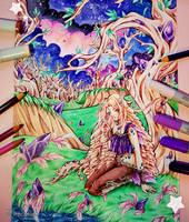 + Amethyst Tree + by MroczniaK
