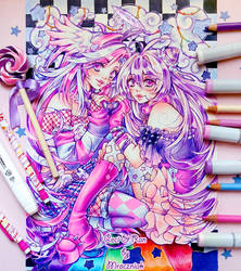 ..::Purple Friendship::.. by MroczniaK