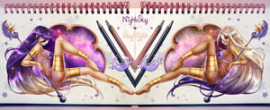 Nightsky ~*~ Skynight by MroczniaK