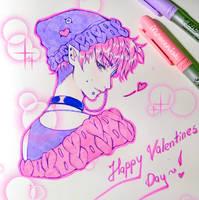 +~+ Happy Valentines Day +~+ by MroczniaK