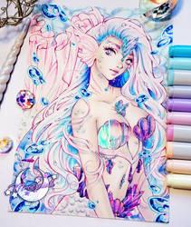 Crystal Mermaid by MroczniaK