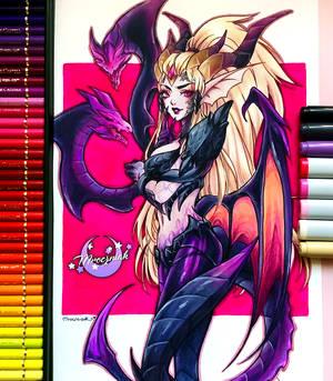 Dragon Sorceress Zyra Small
