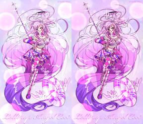 Lollipop Angel Ceci in 90s anime style