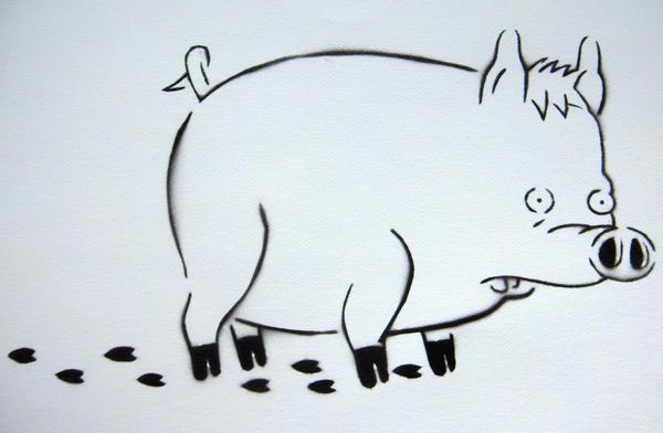 Spider Pig Stencil By C4ym4n On DeviantArt