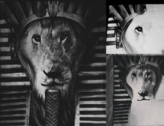 The king by alejandraortiz