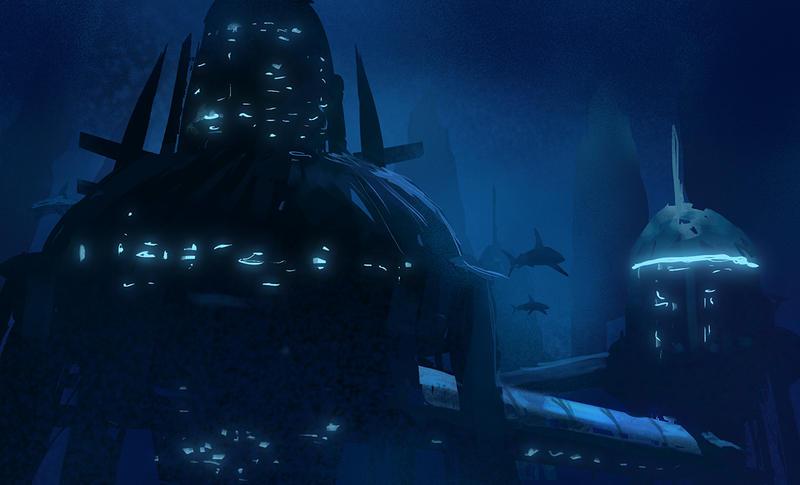 Underwater kingdom by alextornberg on deviantART