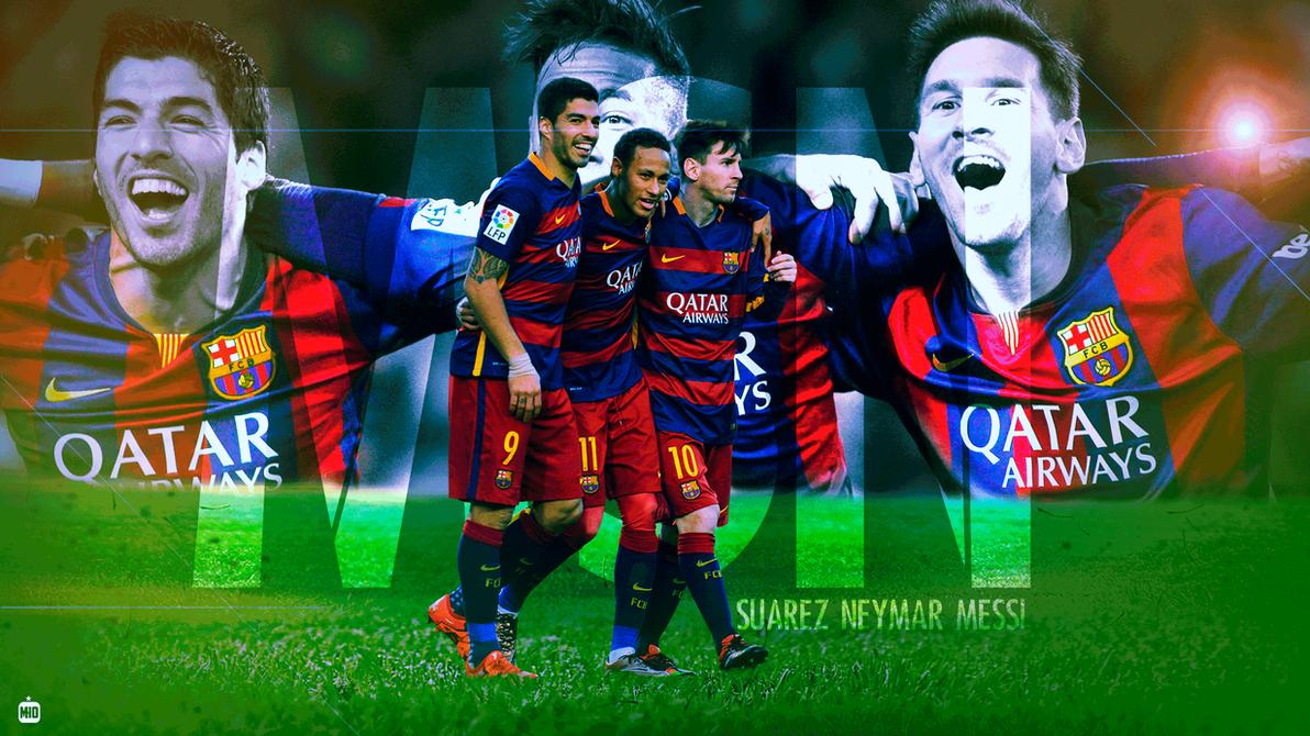 Messi Suarez Neymar FC BARCELONA MSN By FCBMher