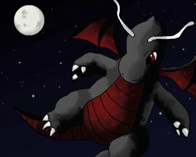 Dark dragonite by Nintendow-PM on DeviantArt