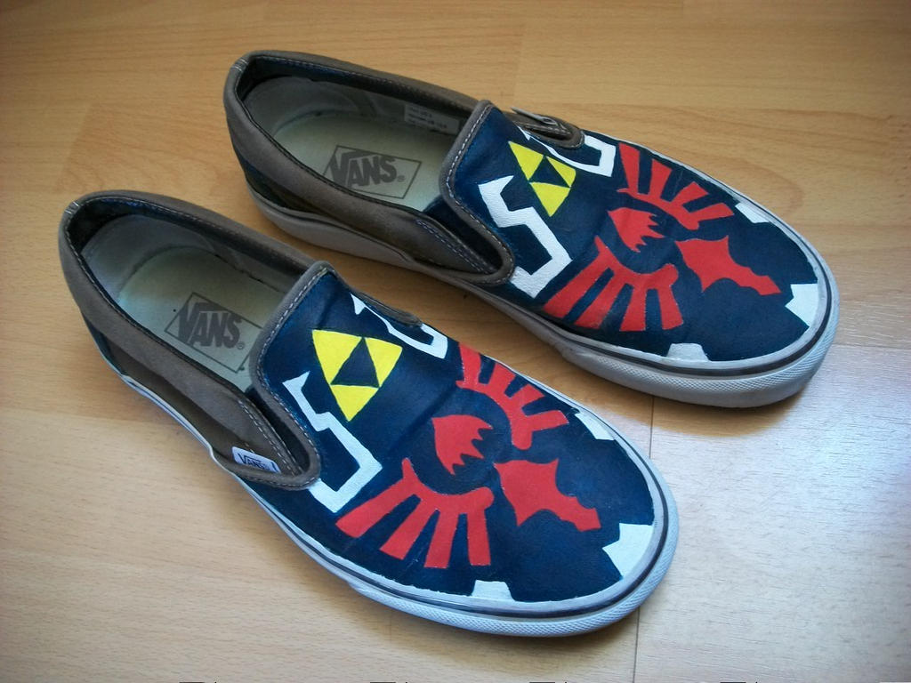 vans the legend of zelda