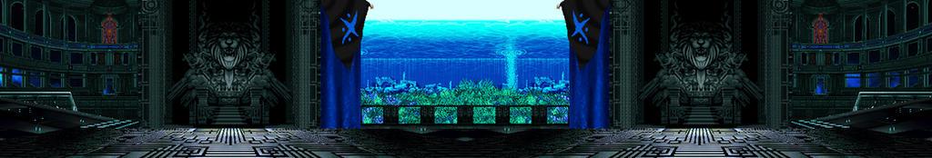 KOF MUGEN Stage Aquatic Lab by GroxKOF
