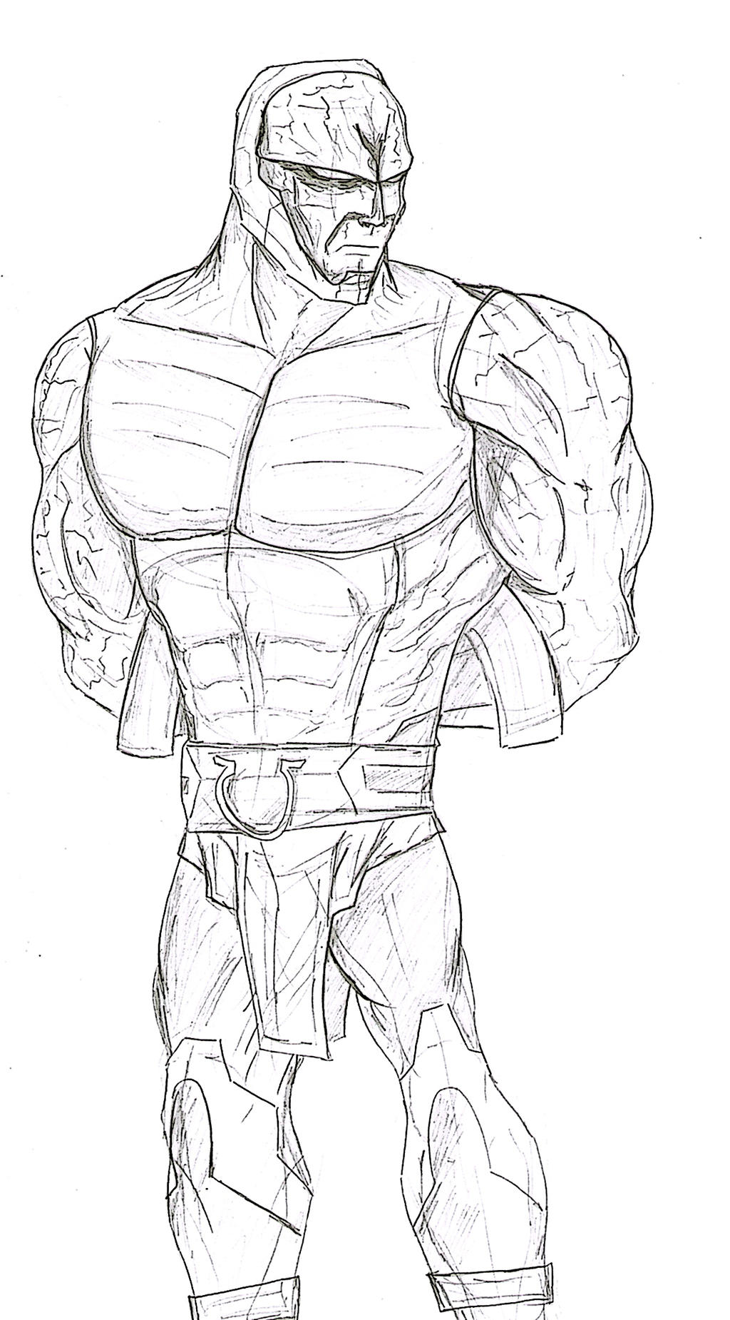 darkseid pencils by soyelmejor999 on deviantart