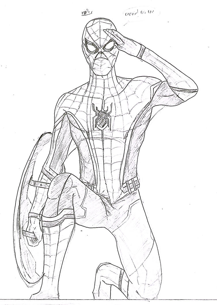 Spidey By Soyelmejor999 On DeviantArt